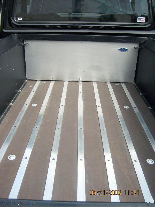 Woodfloor Truck Bed