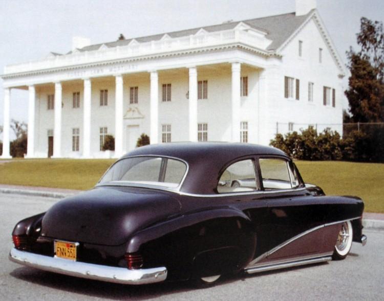 Baglygterne fra 1954 Mercury er vendt på hovedet