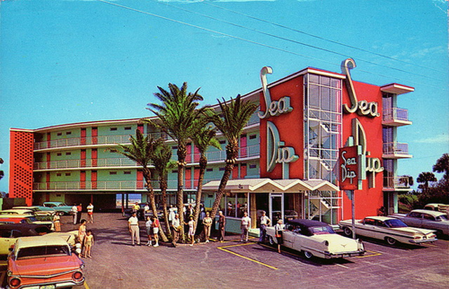 sea dip motel daytona beach florida
