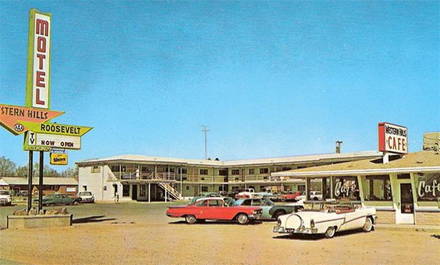 ut-roosevelt-western-hills-motel-c1960