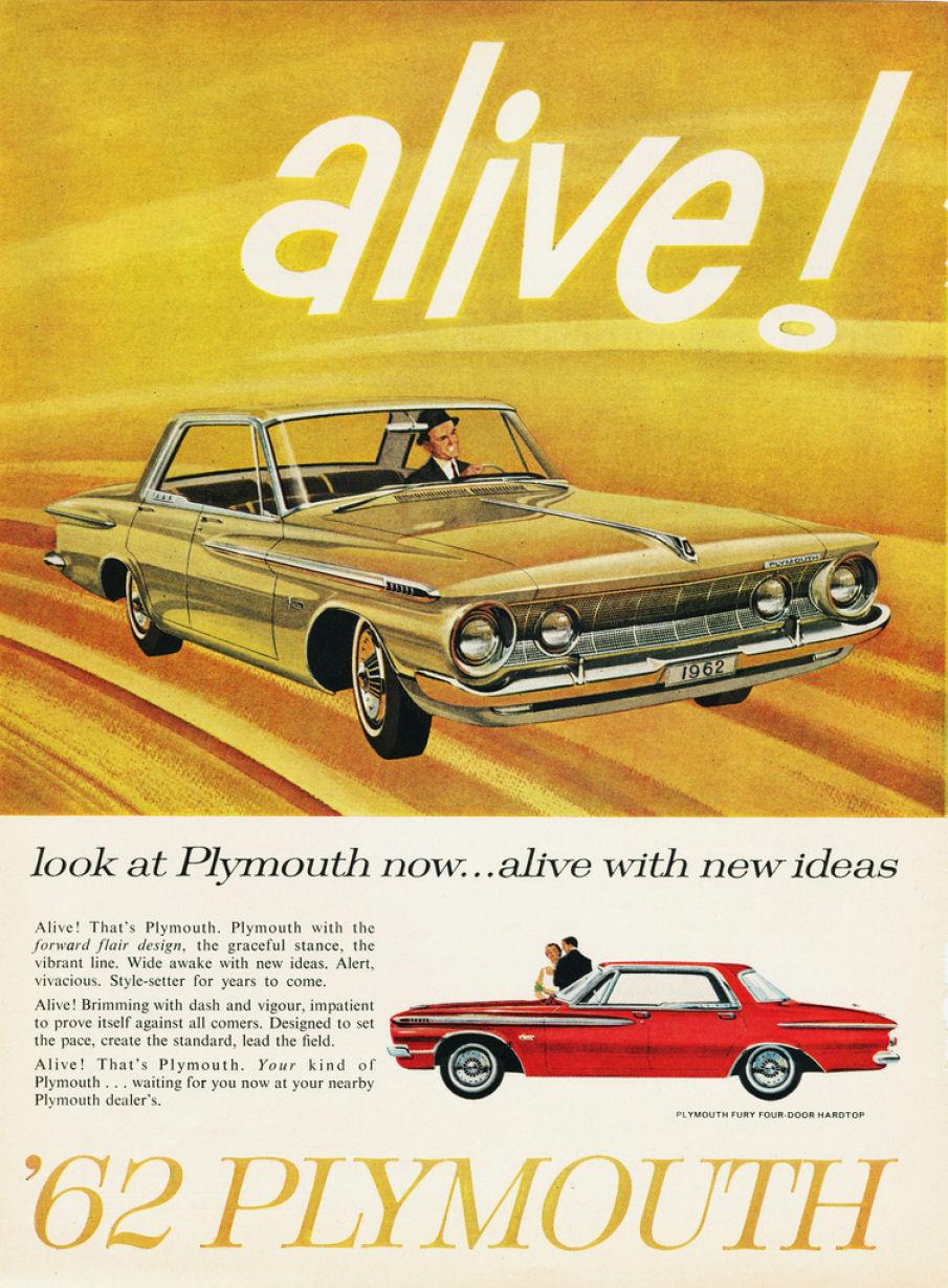 Skal jeg være HELT ærlig, så var Chevrolet's Impala også en hele del flottere i 1962. Så forstår udmærket hvorfor flere valgte en Impala frem for en Fury