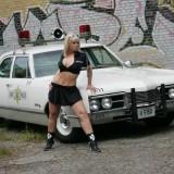Policecar Photoshoot