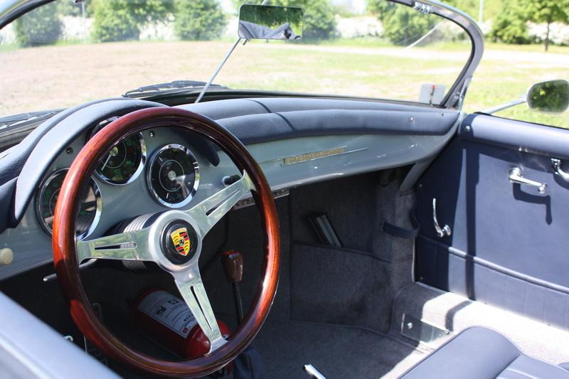 Mahogni rat fra Nardi - Passer fint i en bile som denne