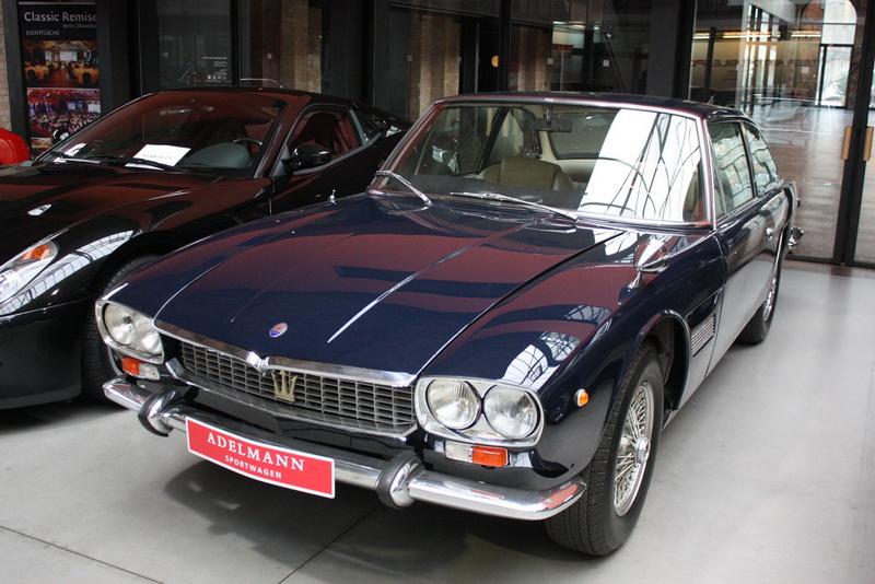 En af 3 Maserati Mexico i Remisen. Og jeg troede de var sjældne....