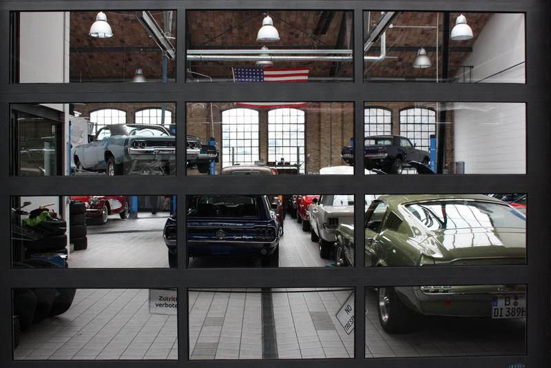 Mustang værksted - Desværre lukket