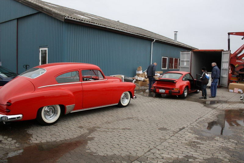 Transportskade 1951 Chevrolet Fleetline Custom 026