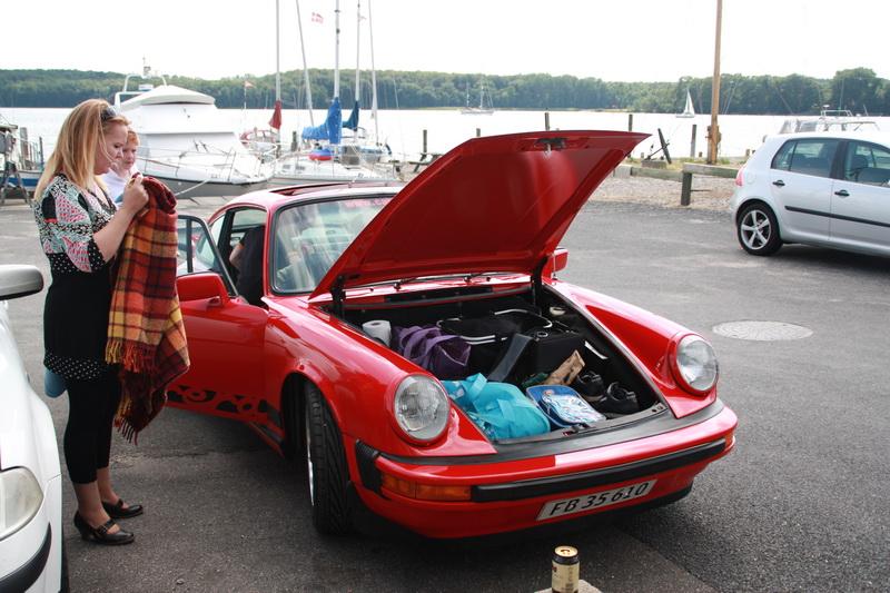 Madpakketur på Sydfyn - Det kan en Porsche nemlig nemt bruges til !