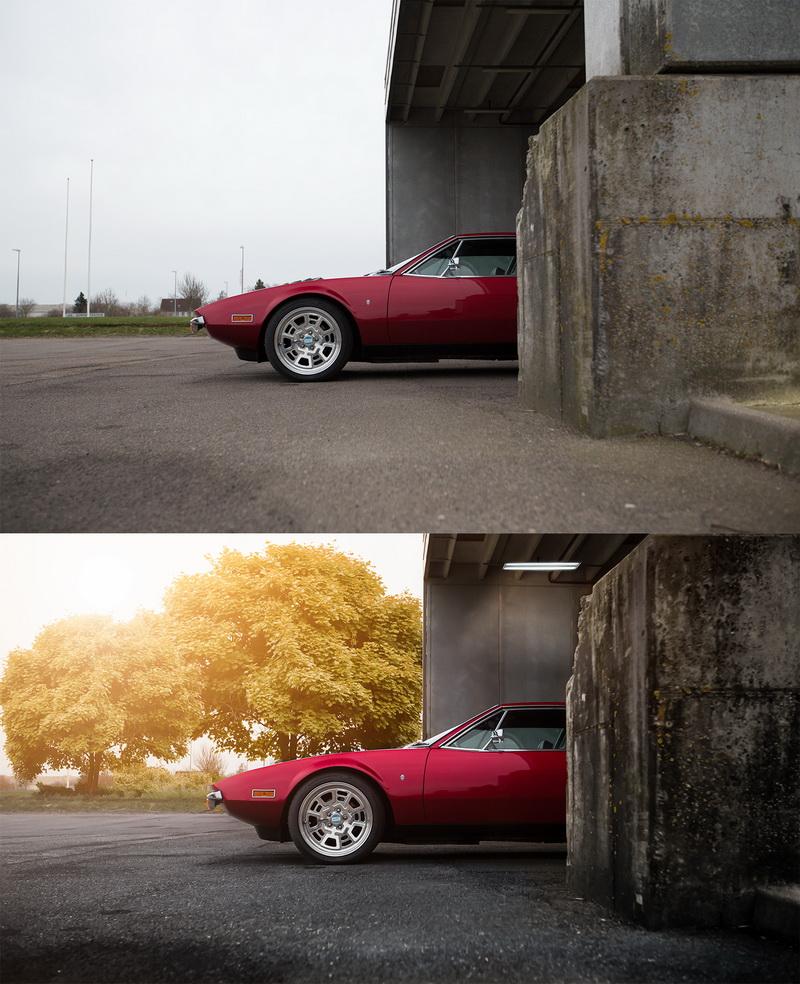 Før og efter - Pludselig er det blevet sommer og der er blade på træerne