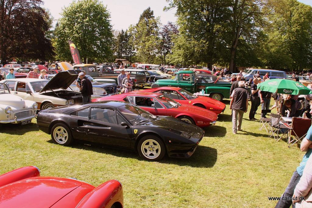 Italienske superbiler på græs