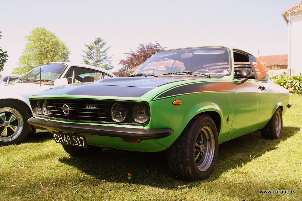 En hver drengs drøm i 1972 - Opel Manta 1900