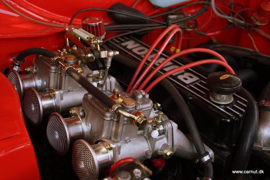 Weber karburatorer i en Ford Escort Mk. I