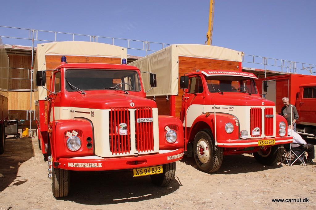 Lastbiler fra en svunden tid