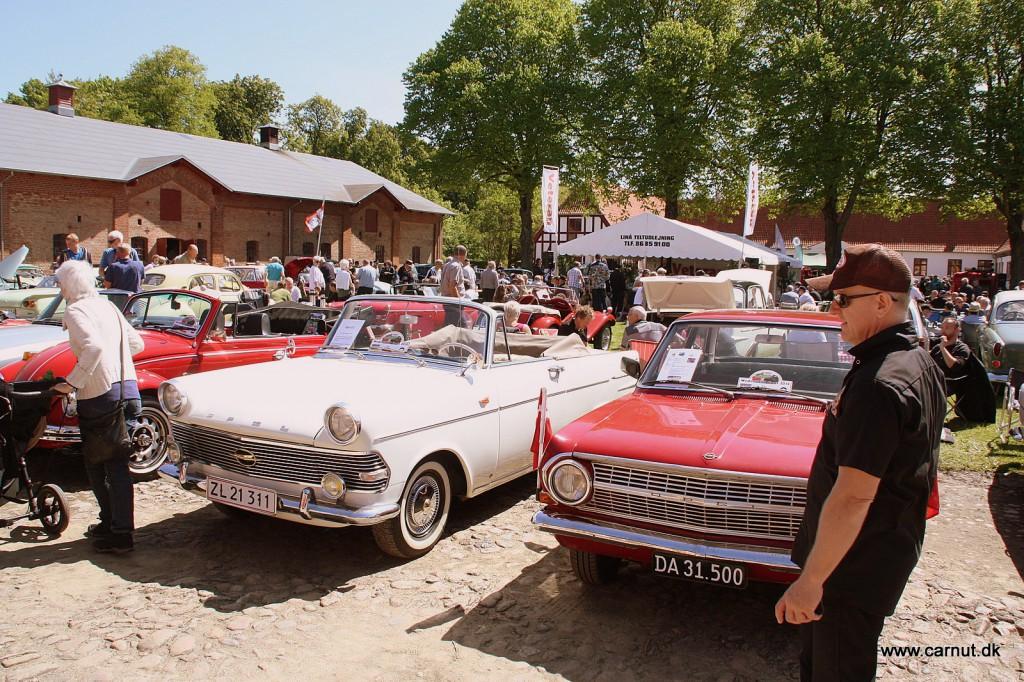 En sjælden Opel P2 cabriolet. En af 20 fremstillede