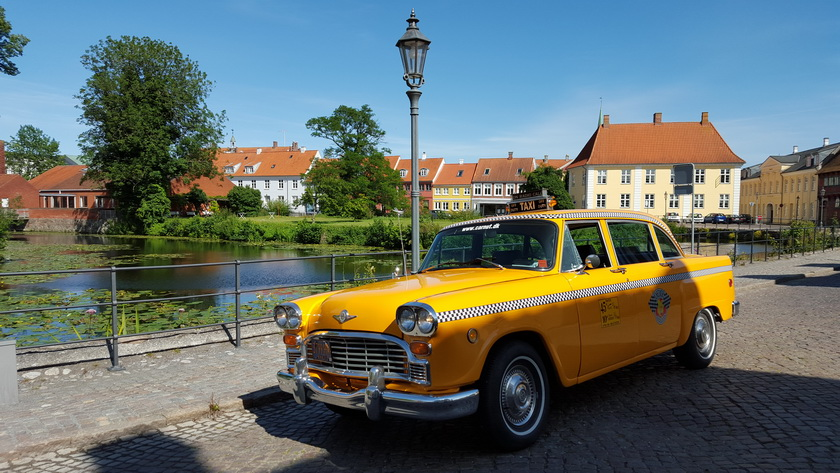Turen gik til Nyborg - Fantastisk flot by og især i solskinsvejr
