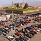 Klassiske biler på Kulturhavnen